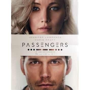 PASSENGERS Affiche de film 40x60 cm - 2016 - Jennifer Lawrence, Morten Tyldum