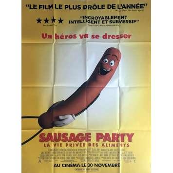 SAUSAGE PARTY Movie Poster 47x63 in. - 2016 - Greg Tiernan, Seth Rogen