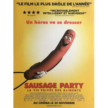 SAUSAGE PARTY Movie Poster 15x21 in. - 2016 - Greg Tiernan, Seth Rogen