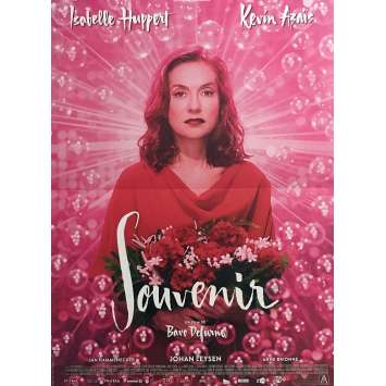 SOUVENIR Movie Poster 15x21 in. - 2016 - Bavo Defurne, Isabelle Huppert
