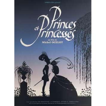 PRINCE ET PRINCESSES Affiche de film 40x60 cm - 2000 - Arlette Mirapeu, Michel Ocelot
