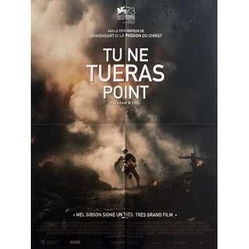 TU NE TUERAS POINT Affiche de film 40x60 cm - 2016 - Andrew Garfield, Mel Gibson