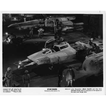 STAR WARS - A NEW HOPE Movie Still SW-K-36 8x10 in. - 1977 - George Lucas, Harrison Ford