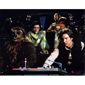 RETURN OF THE JEDI Very Rare color 16x20 still N°11 '83 Star Wars sci-fi, Han Solo