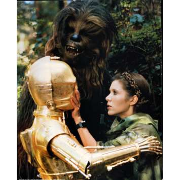 RETURN OF THE JEDI Very Rare color 16x20 still N°10 '83 Star Wars sci-fi, C3PO