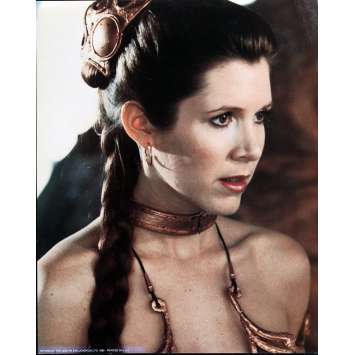 RETURN OF THE JEDI Very Rare color 16x20 still N°1 '83 Star Wars sci-fi, Leia