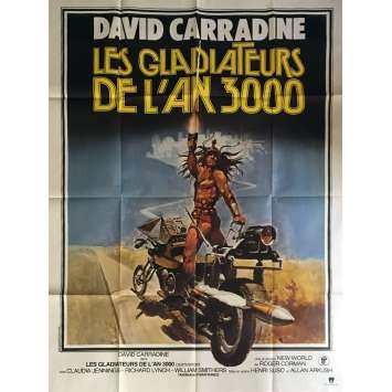 DEATHSPORT Movie Poster 47x63 in. - 1978 - Roger Corman, David Carradine