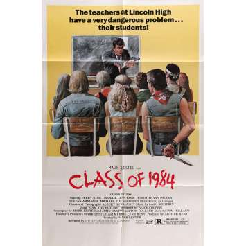 CLASS OF 1984 Movie Poster 29x41 in. - 1982 - Mark Lester, Perry King