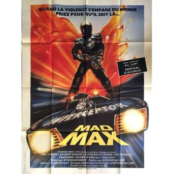 MAD MAX Rare French Movie Poster Rare 1st Release ! 47x63 in - 1982