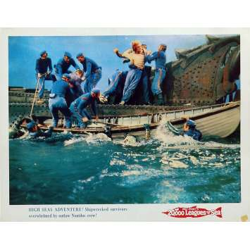 20,000 LEAGUES UNDER THE SEA Lobby Card N2 11x14 in. - R1971 - Richard Fleisher, Kirk Douglas