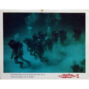 20,000 LEAGUES UNDER THE SEA Lobby Card N1 11x14 in. - R1971 - Richard Fleisher, Kirk Douglas