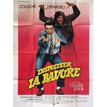 INSPECTOR BLUNDER Movie Poster 47x63 in. - 1980 - Claude Zidi, Coluche