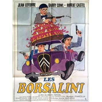 LES BORSALINI Movie Poster 47x63 in. - 1980 - Michel Nerval, Jean Lefebvre