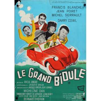 LE GRAND BIDULE Movie Poster 23x32 in. - 1967 - Raoul André, Francis Blanche