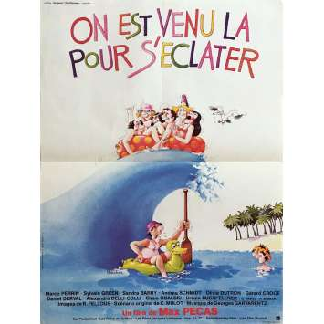 HOT DOGS ON IBIZA Movie Poster 15x21 in. - 1979 - Max Pécas, Marco Perrin