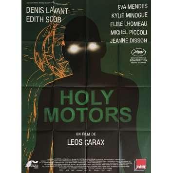 HOLY MOTORS Affiche de film 120x160 cm - 2012 - Denis Lavant, Leos Carax