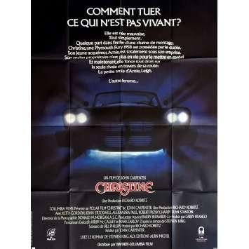 CHRISTINE Affiche de film 120x160 - 1983 - Keith Gordon, John Carpenter