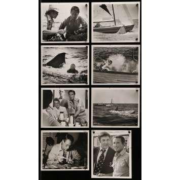 LES DENTS DE LA MER 2E PARTIE Photos de presse x10 20x25 cm - 1978 - Roy Sheider, Jeannot Szwarc