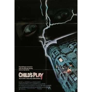 CHUCKY JEU D'ENFANT Affiche de film 69x104 cm - 1988 - Catherine Hicks, Tom Holland