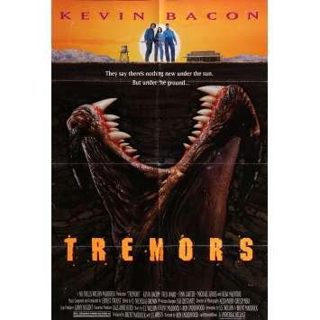 TREMORS Affiche de film 69x104 cm - 1990 - Kevin Bacon, Ron Underwood