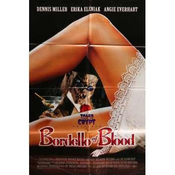BORDELLO OF BLOOD Movie Poster 29x41 in. - 1996 - Gilbert Adler, Dennis Miller