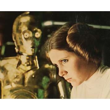 STAR WARS - A NEW HOPE US Lobby Card 4 8x10 - 1977 - George Lucas, Harrison Ford