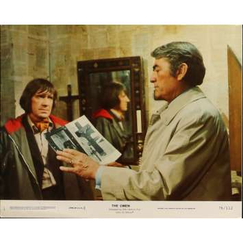 THE OMEN Lobby Card N01 8x10 in. - 1979 - Richard Donner, Gregory Peck