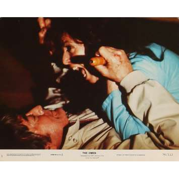THE OMEN Lobby Card N05 8x10 in. - 1979 - Richard Donner, Gregory Peck