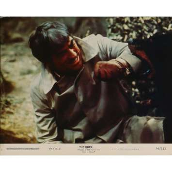 THE OMEN Lobby Card N07 8x10 in. - 1979 - Richard Donner, Gregory Peck