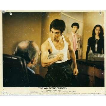 LA FUREUR DU DRAGON Photo de film N03 20x25 cm - 1972 - Chuck Norris, Bruce Lee