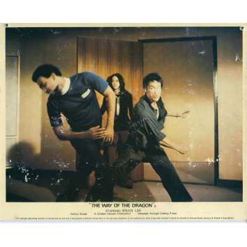 THE RETURN OF THE DRAGON Lobby Card N08 8x10 in. - 1972 - Bruce Lee, Chuck Norris