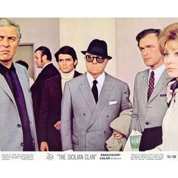 THE SICILIAN CLAN Lobby Card N02 8x10 in. - 1969 - Henri Verneuil, Lino Ventura