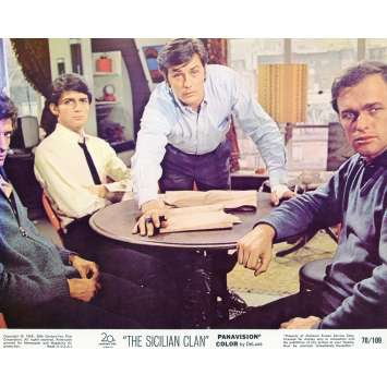 THE SICILIAN CLAN Lobby Card N03 8x10 in. - 1969 - Henri Verneuil, Lino Ventura