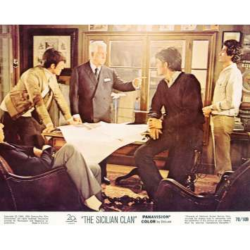 THE SICILIAN CLAN Lobby Card N04 8x10 in. - 1969 - Henri Verneuil, Lino Ventura