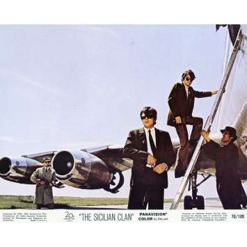 THE SICILIAN CLAN Lobby Card N06 8x10 in. - 1969 - Henri Verneuil, Lino Ventura