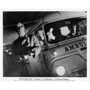 IPCRESS DANGER IMMEDIAT Photo de presse N06 20x25 cm - 1965 - Michael Caine, Sidney J. Furie