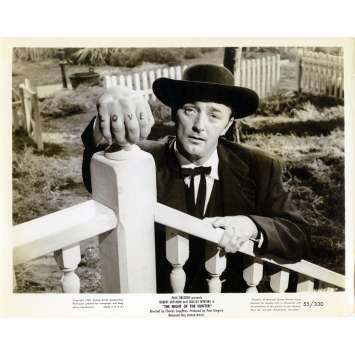 THE NIGHT OF THE HUNTER Movie Still N01 8x10 in. - 1955 - Charles Laughton, Robert Mitchum