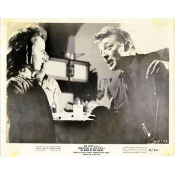 THE NIGHT OF THE HUNTER Movie Still N03 8x10 in. - 1955 - Charles Laughton, Robert Mitchum