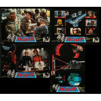 THE LAST STARFIGHTER Lobby Cards x10 9x12 in. - 1984 - Nick Castle, Lance Guest