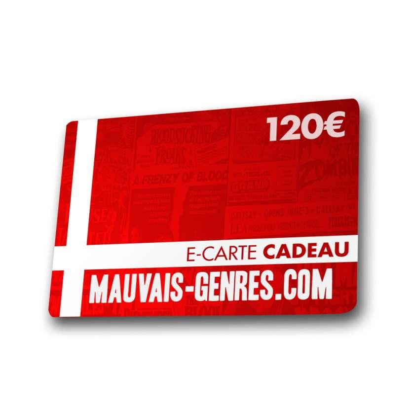 120€ Mauvais Genres GIFT VOUCHER !