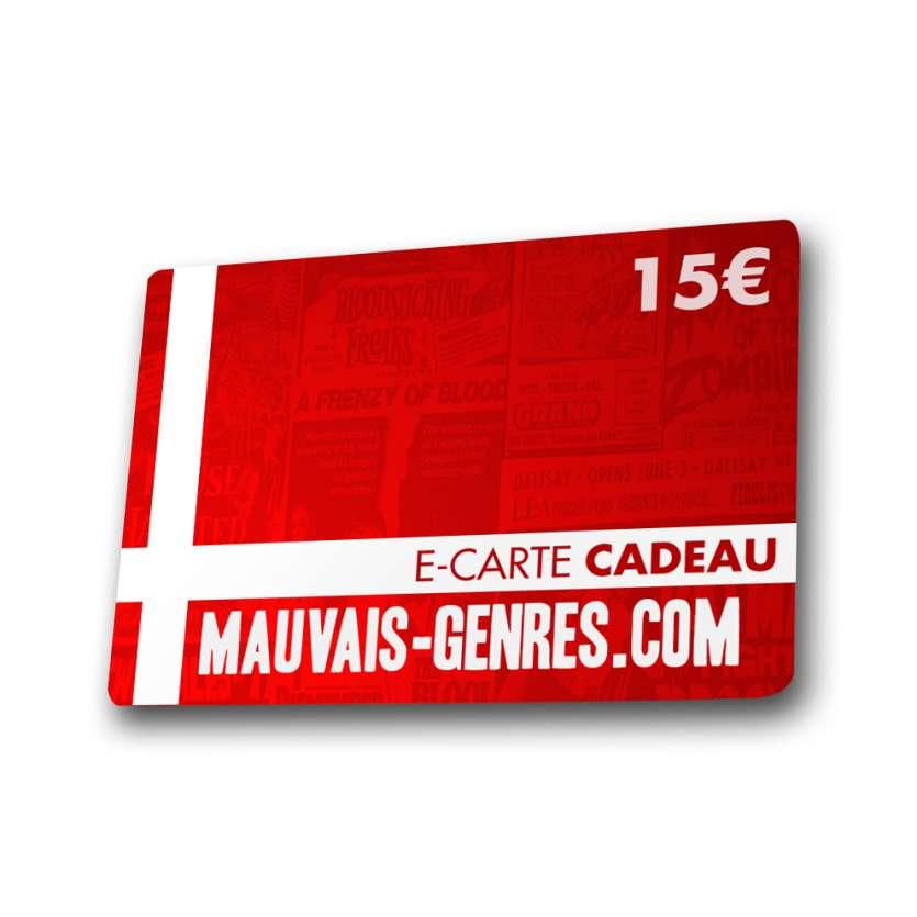 15€ Mauvais Genres GIFT VOUCHER !