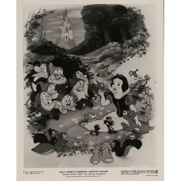 BLANCHE NEIGE ET LES 7 NAINS Photo de presse N06 24x30 cm - R1975 - Walt Disney, Walt Disney