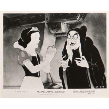 BLANCHE NEIGE ET LES 7 NAINS Photo de presse N02 24x30 cm - R1975 - Walt Disney, Walt Disney