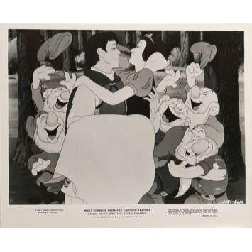 SNOW WHITE AND THE SEVEN DWARFS Movie Still N01 9,5x12 in. - R1975 - Walt Disney, Walt Disney