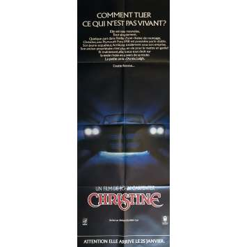 CHRISTINE Movie Poster 23x63 in. - 1983 - John Carpenter, Keith Gordon