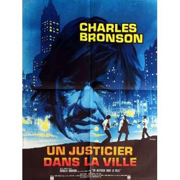 UN JUSTICIER DANS LA VILLE Affiche de Film 60x80 - 1974 - Charles Bronson, Michael Winner