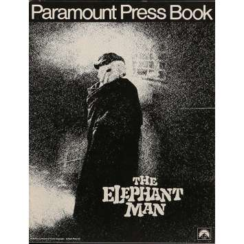 ELEPHANT MAN Pressbook 8x12 in. - 1980 - David Lynch, John Hurt