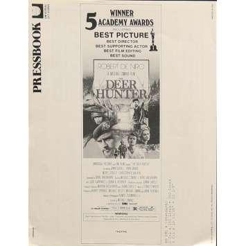 THE DEER HUNTER Pressbook 8x12 in. - 1978 - Michael Cimino, Robert de Niro