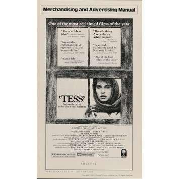 TESS Pressbook 8x12 in. - 1981 - Roman Polanski, Nastassja Kinski