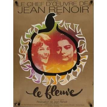 THE RIVER Movie Poster 23x32 in. - 1951 - Jean Renoir, Patricia Walters